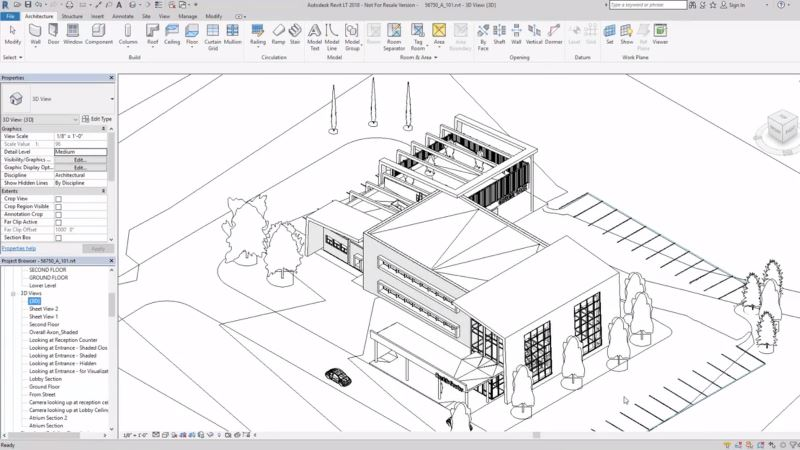 DS | Software BIM económico e simplificado Autodesk Revit LT