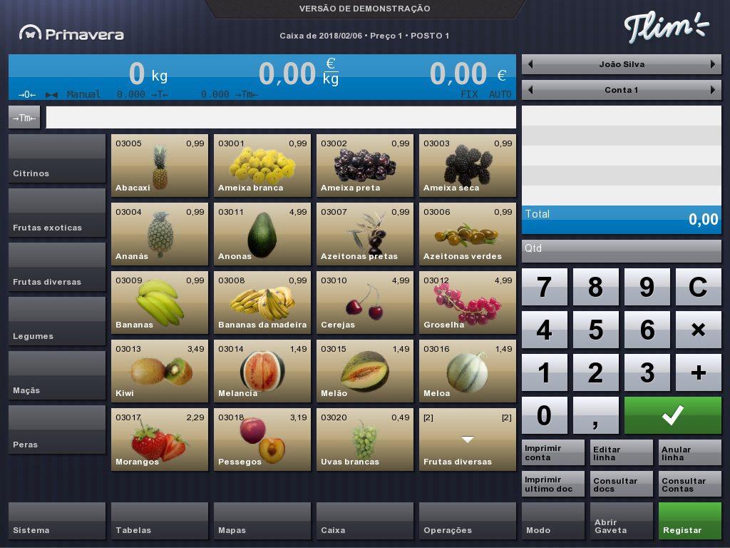 Primavera retalho, software de gestão e de faturação gratuito tlim
